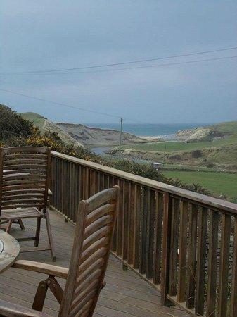 Sea View House: dal terrazzo...