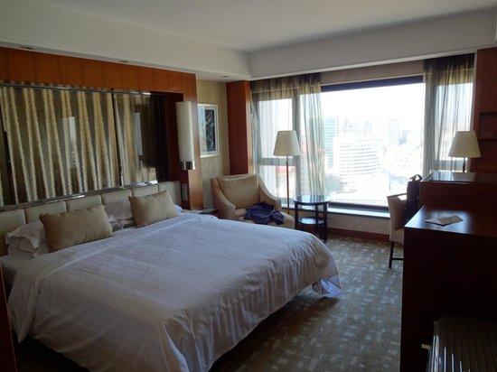 Beijing International Hotel: Bedroom