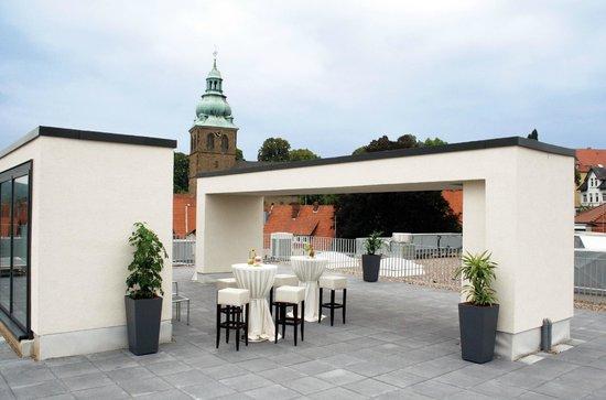 BEST WESTERN PLUS Hotel Ostertor: Dachterrasse