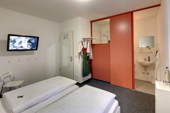 mk hotel münchen: Doppelzimmer