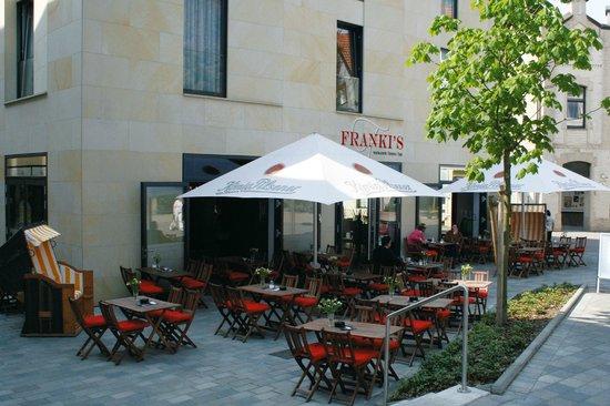 BEST WESTERN PLUS Hotel Ostertor: Terrasse