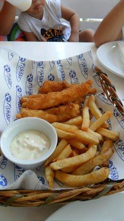 Fishbar: fish fingers