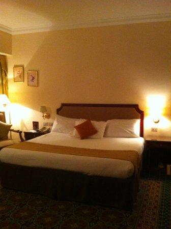Helnan Palestine Hotel: Kingsize bed