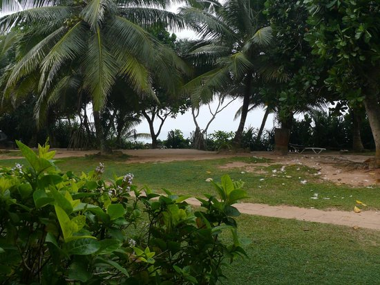 Koggala Beach Hotel: View from our back door