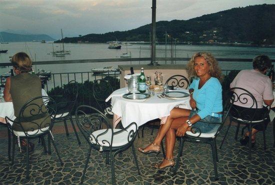 TERRAZZA RISTORANTE PANORAMICA SUL MARE DELL\' HOTEL - Picture of ...