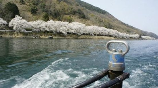 Kaizu Osaki: 水上タクシーきらりからの眺め