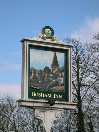 Bosham Inn: Pretty sign