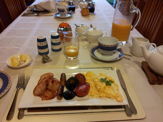 Ambleside Bed & Breakfast: Great breakfast!