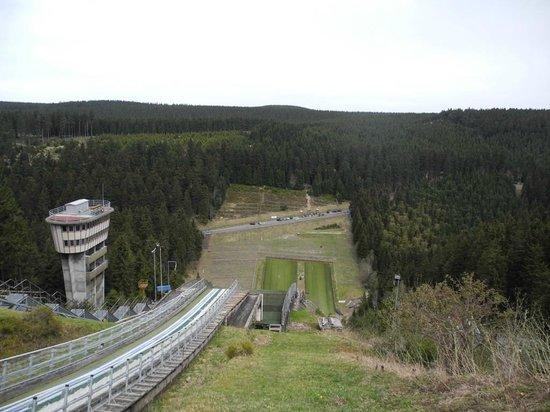 Sporthotel Oberhof: Die Sprungschanze