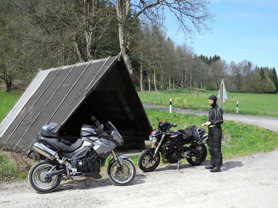 Sporthotel Oberhof: Wunderschön durch nicht-besiedeltes Land zu fahren