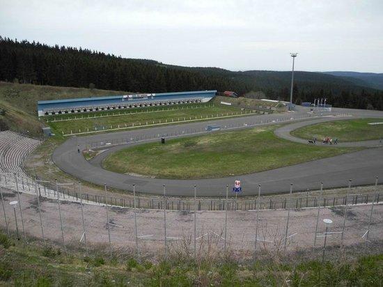 Sporthotel Oberhof: Das Biathlon-Stadion