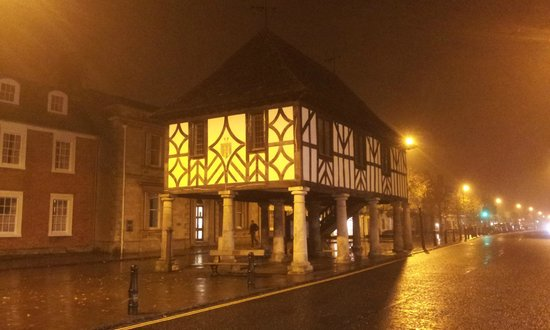 Royal Wootton Bassett Old Town Hall in Winter