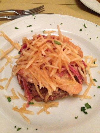 Guerrini dal 1958: Hamburger alle cipolle rosse di Tropea