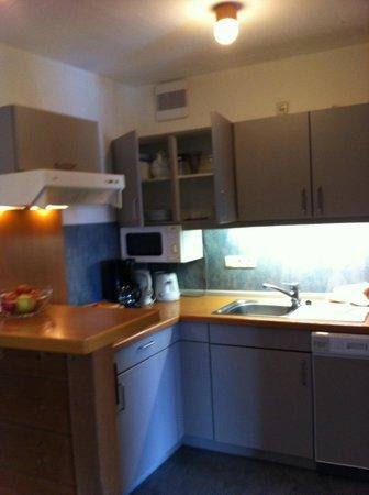 Appartement  Hotel Seespitz: Кухонный уголок