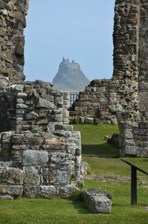 Bilton Barns: Lindisfarne castle