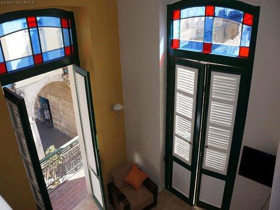 Hostal Plaza Vieja: Window view