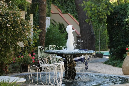 Casa Pairal: jardin...et piscine