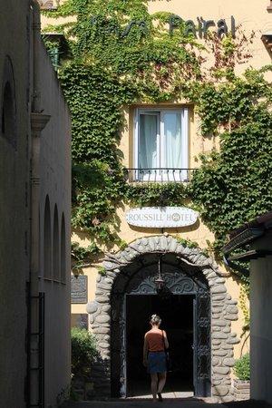 Casa Pairal: entrée de l'hotel