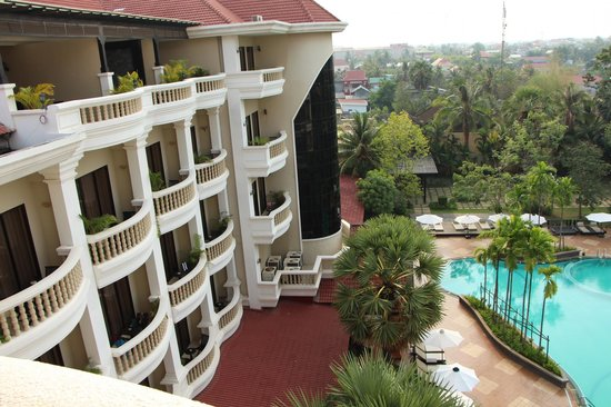 The Privilege Floor by BOREI ANGKOR: view from room