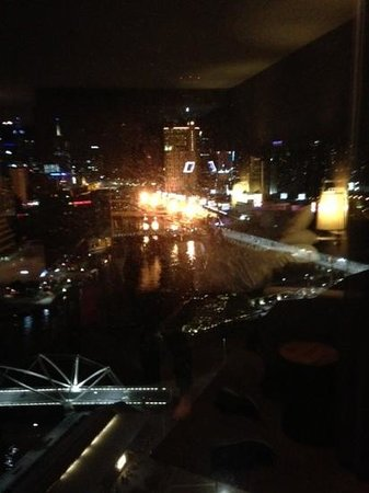 Hilton Melbourne South Wharf: view from 17th floor