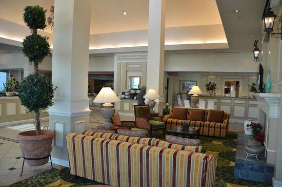 Hilton Garden Inn: Entree