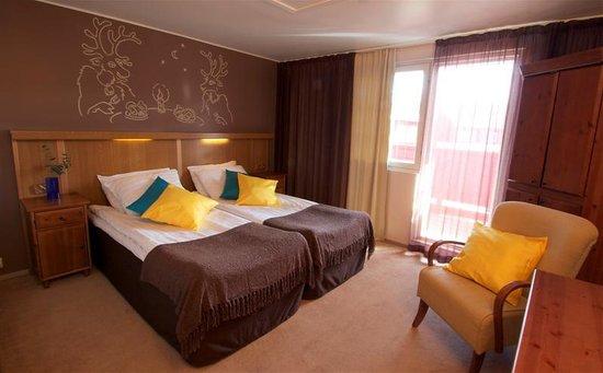 Hotel Hullu Poro - The Crazy Reindeer: Double room in hotel Hullu Poro