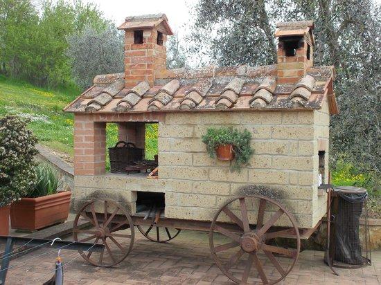 Agriturismo La Fonte: Camino