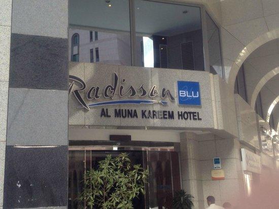 Leader Al Muna Kareem Hotel: Front entrance