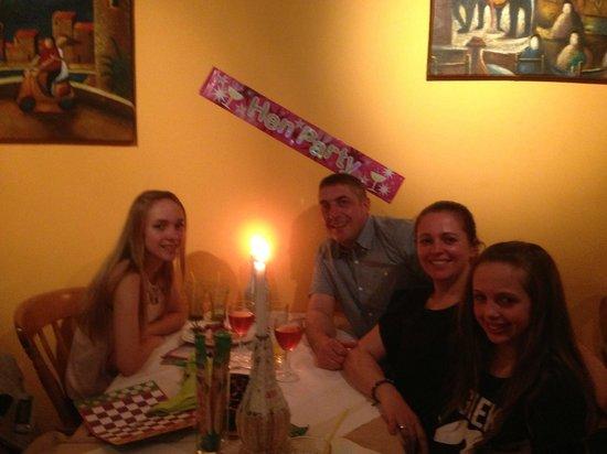 Tiramisu: great night out excellent