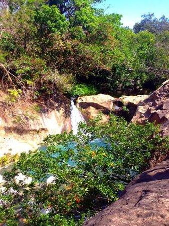 Hotel Hacienda Guachipelin: catarata Chorreras