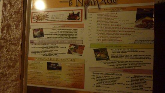 Le Nomade : L'entrée du restaurant.