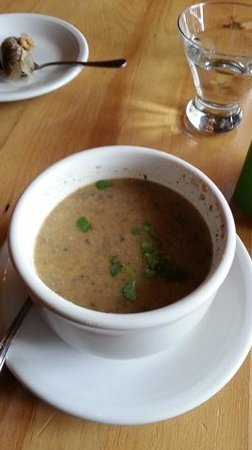 Cafe Gratitude: Mushroom, excellent and full of flavors