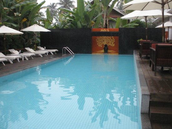 Maison Souvannaphoum Hotel : the pool by the restaurant