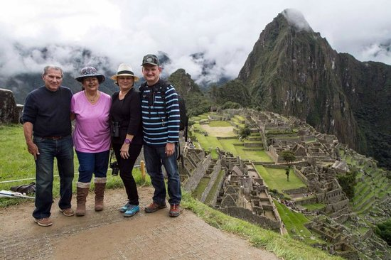 Private Tours Peru: Our 1st view with David so happy we made it