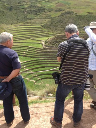 Private Tours Peru: Maras with David