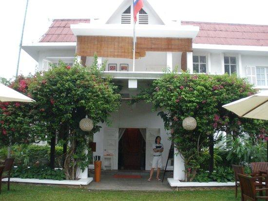 Maison Souvannaphoum Hotel: main entrance