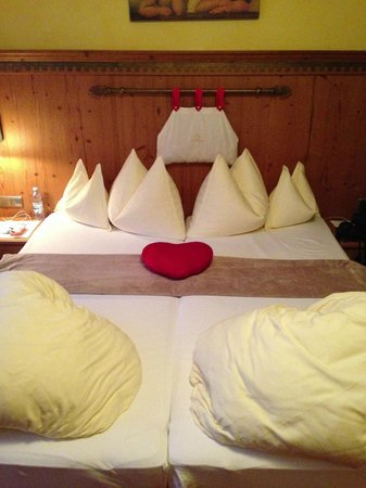 Hotel Castello Falkner : slaapkamer