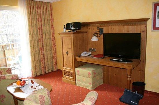 Hotel Castello Falkner: zithoek