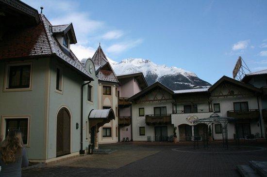 Hotel Castello Falkner: gezellig binnenpleintje