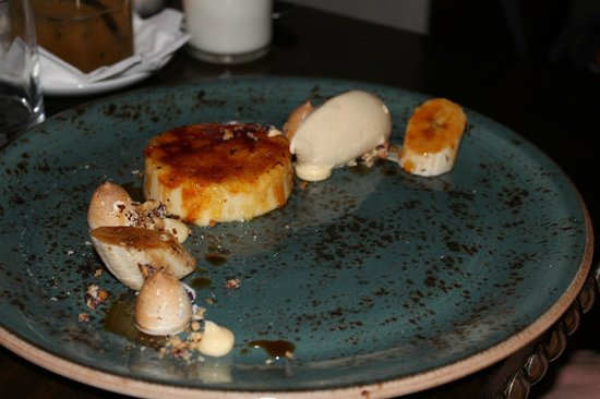 Downstairs Restaurant and Bar: Creme bruille