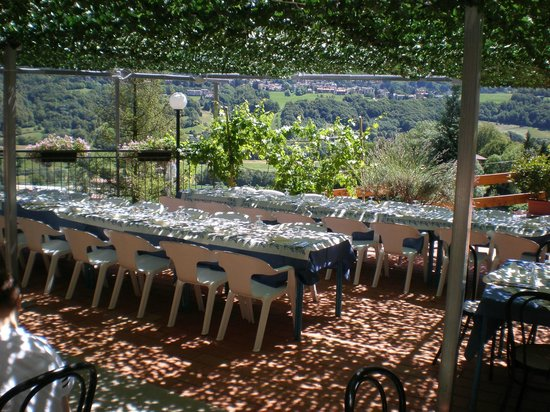 Pasturo, Włochy: Terrazza estiva