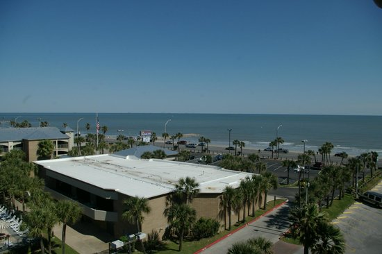 Quality Inn & Suites Galveston: View of sea from balcony