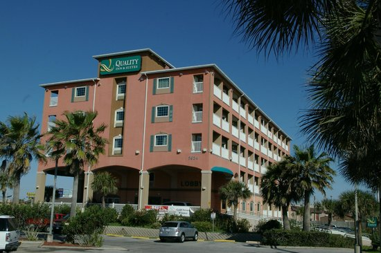 Quality Inn & Suites Galveston: The hotel