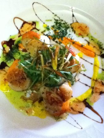 The White Swan: Scallops
