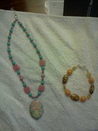 Derryaun Crafts: Two of the pieces made during our workshop