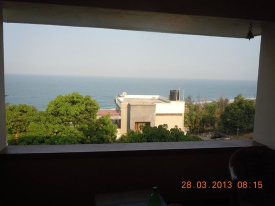Abhishek Beach Resort and Spa: view from room