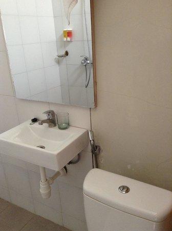 Cityzen Renon : wastafel dan toilet