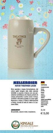 Kinsale Irish Pub: Kellerbier - Birra di Primavera 2013