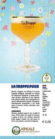 Kinsale Irish Pub: La Trappe Purr - Birra di Primavera 2013