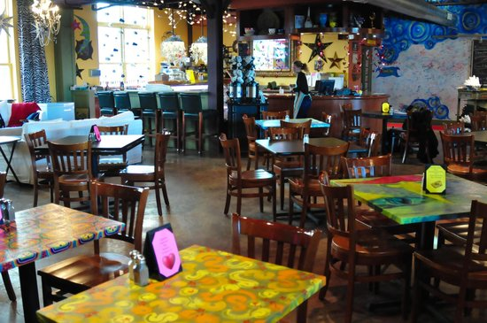 Euphoria and Creation Cafe: Creation Cafe Dining Room